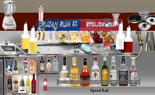 iBar Interactive Bartender Simulation Software: Learn Drink Names, Memorize Drink Recipes, Learn Mixology