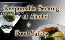 Combo: Responsible Serving of Alcohol (On-Premise) + Food Safety for Handlers Online Training & Certification